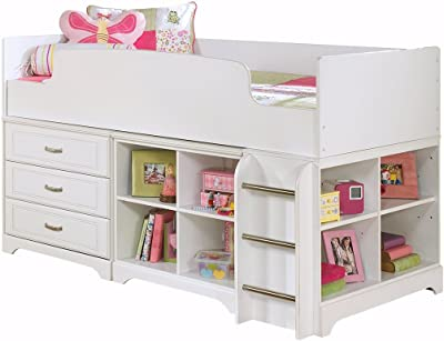 Amazon Com Donco Kids Low Study Loft Bed Kitchen Amp Dining