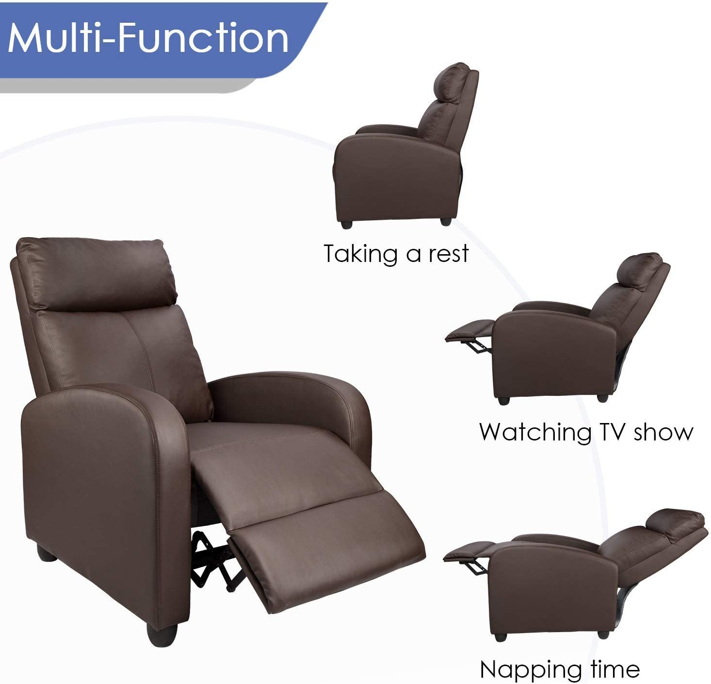 61Aewl7wTuL. AC SL1466 - What Are The Most Comfortable Chairs For Watching TV That Look Good Too - ChairPicks