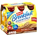 Carnation Breakfast Essentials Ready To Drink, Chocolate, 8 Fluid Ounce (Pack Of 6)