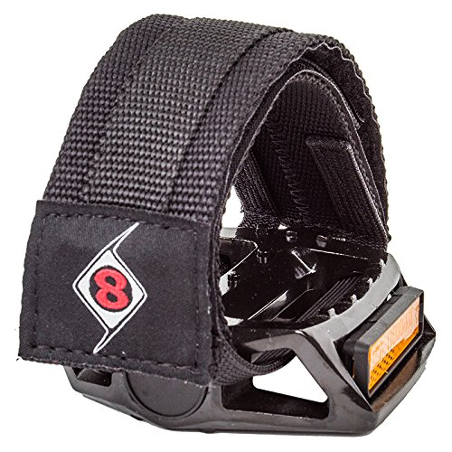 Origin8 Pro-Grip II Pedal Straps, Black