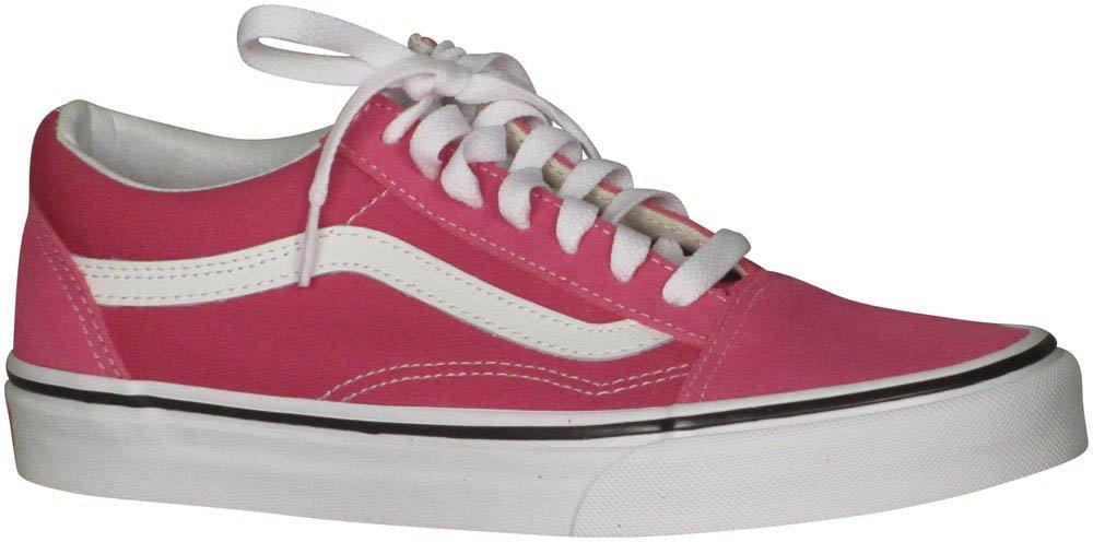 Vans Unisex Old Skool Classic Skate Shoes B01MTZYJI7 7.5 B(M) US Women / 6 D(M) US Men|Very Berry True White