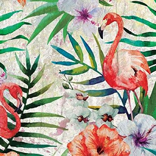 24 x 24 Tropical Life 2 Poster Print by Kimberly Allen
