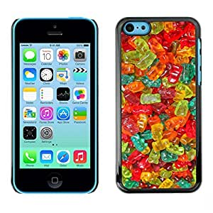 TaiTech / Hard Protective Case Cover - Candy Sweets Food Colors - Apple iPhone 5C by ruishername