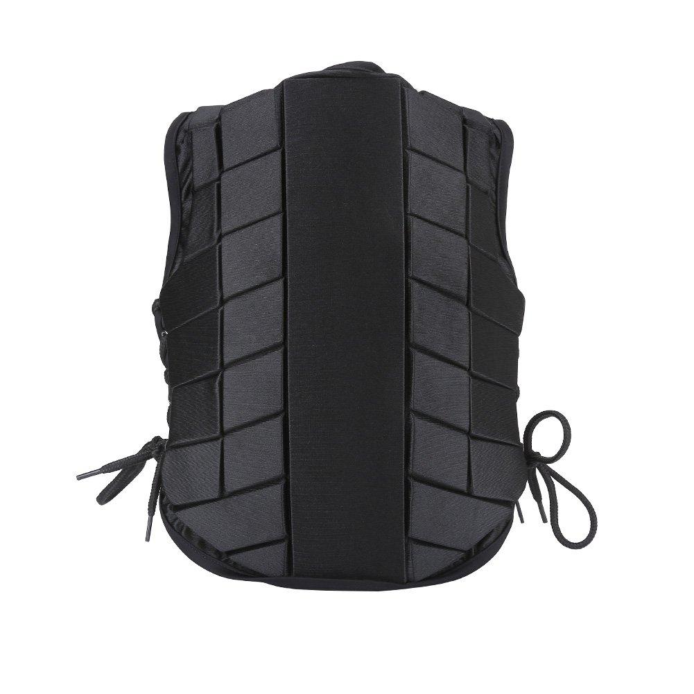 Zerone Espalda para ni/ños reitschutzweste Jinete Seguridad Chaleco Protector Corporal y Protector Comodidad y f/ácil ilimitada Acciones tama/ño Opcional