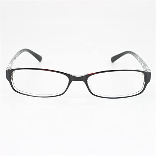 4c189bed9592 EyeBuyExpress Rectangle Black Reading Glasses Magnification Strength 0.25