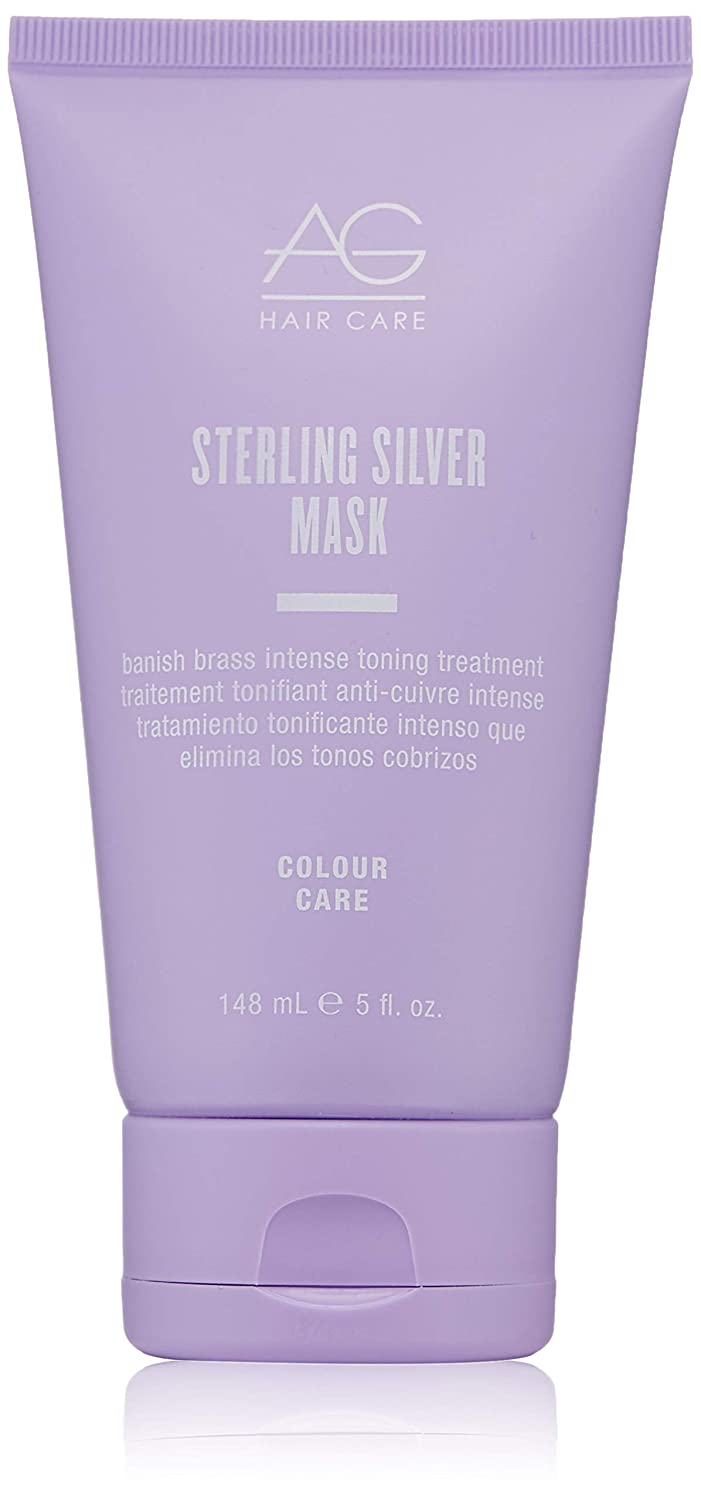 AG Hair Sterling Silver Mask Banish Brass Intense Toning Treatment