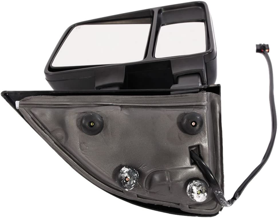 Roadstar Towing Mirrors Fit for 08-15 Ford F250 F350 F450 F550 Super Duty Pair LH/&RH Power Heated Side Mirrors with LED Smoke Signal Light