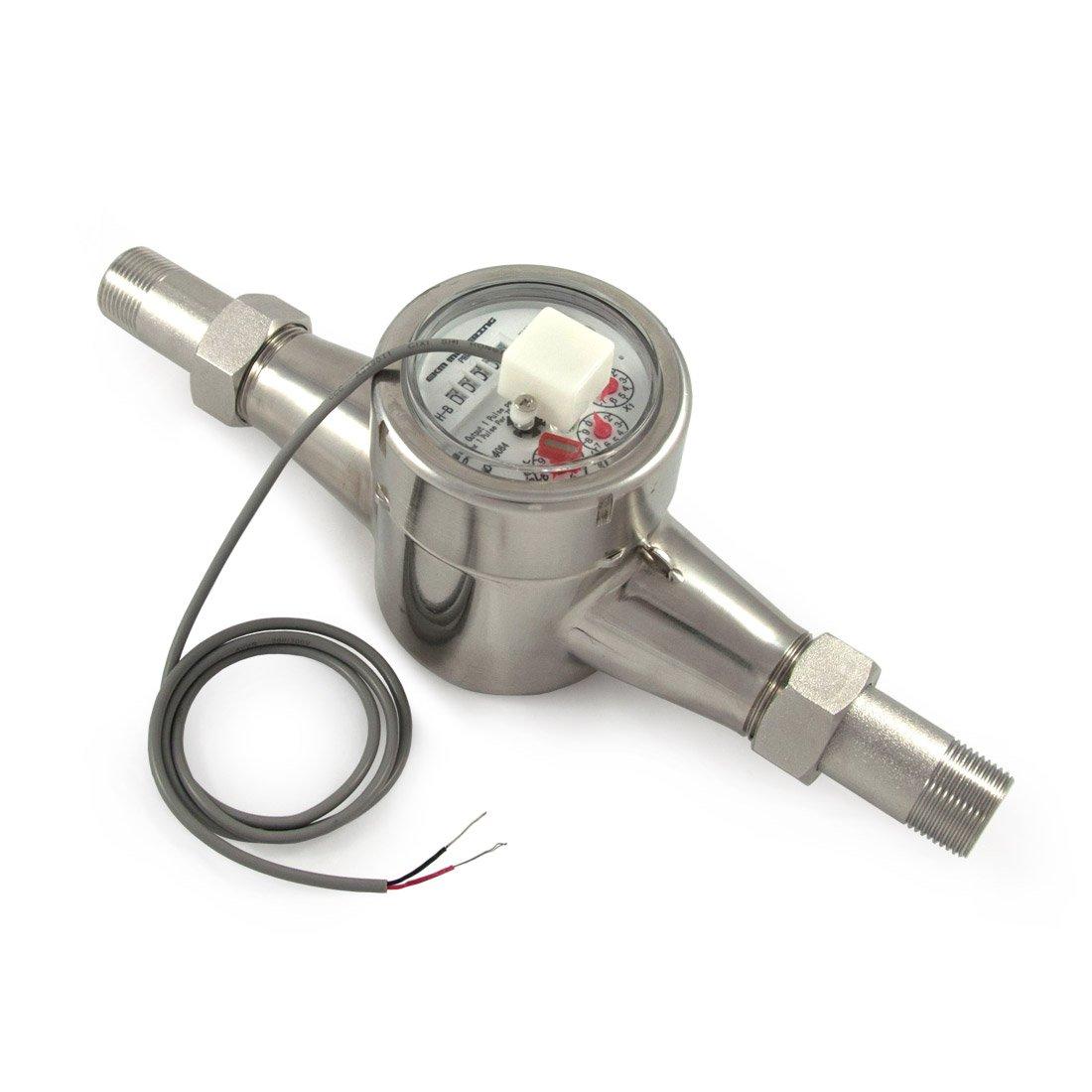 EKM Metering 3/4'' Water Meter - Stainless Steel, Pulse Output