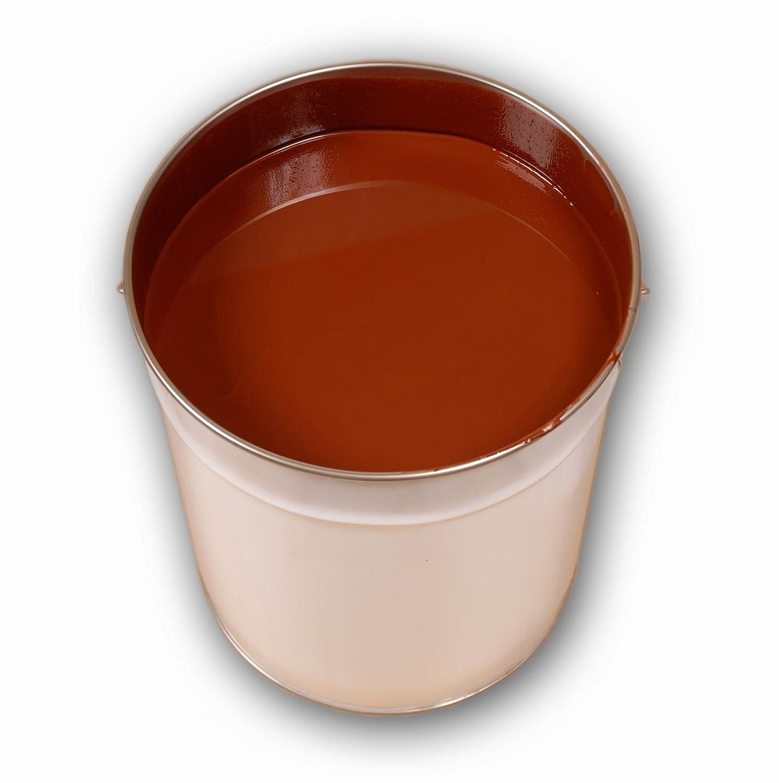 5 Liter Braun Bodenfarbe Betonfarbe Garagenfarbe Industrieboden PU ...