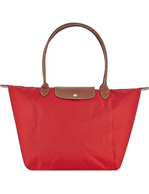 Longchamp - Bolsa de Sintético Mujer, color Rojo, talla ...