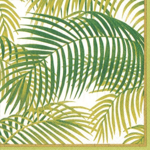 Paper Dinner Napkins Hawaiian Luau Party Beach Party Nautical Under the Palms Pk (Tropical Palm Dinner)