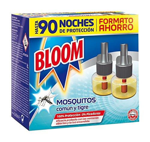 🥇 Bloom Insecticida Eléctrico Líquido Mosquitos – 2 x18 ml