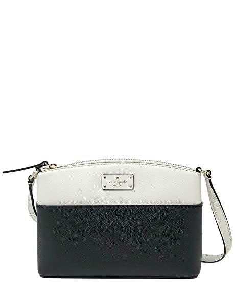 88625eeca58e Kate Spade New York Grove Street Millie Leather Shoulder Handbag Purse  (Black Cement)  Amazon.ca  Jewelry