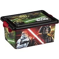 ColorBaby - Caja ordenación 7 litros, diseño star