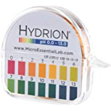 Hydrion Ph paper (93) with Dispenser and Color Chart - Full range Insta Chek ph- 0-13