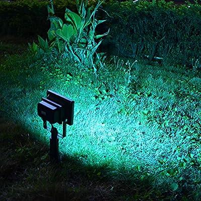 Solar Power Light Garden Floodlight 20 LEDs RGB 5050LED Garden Security Solar Light Waterproof Garden Lawn Outdoor Panel Lamp