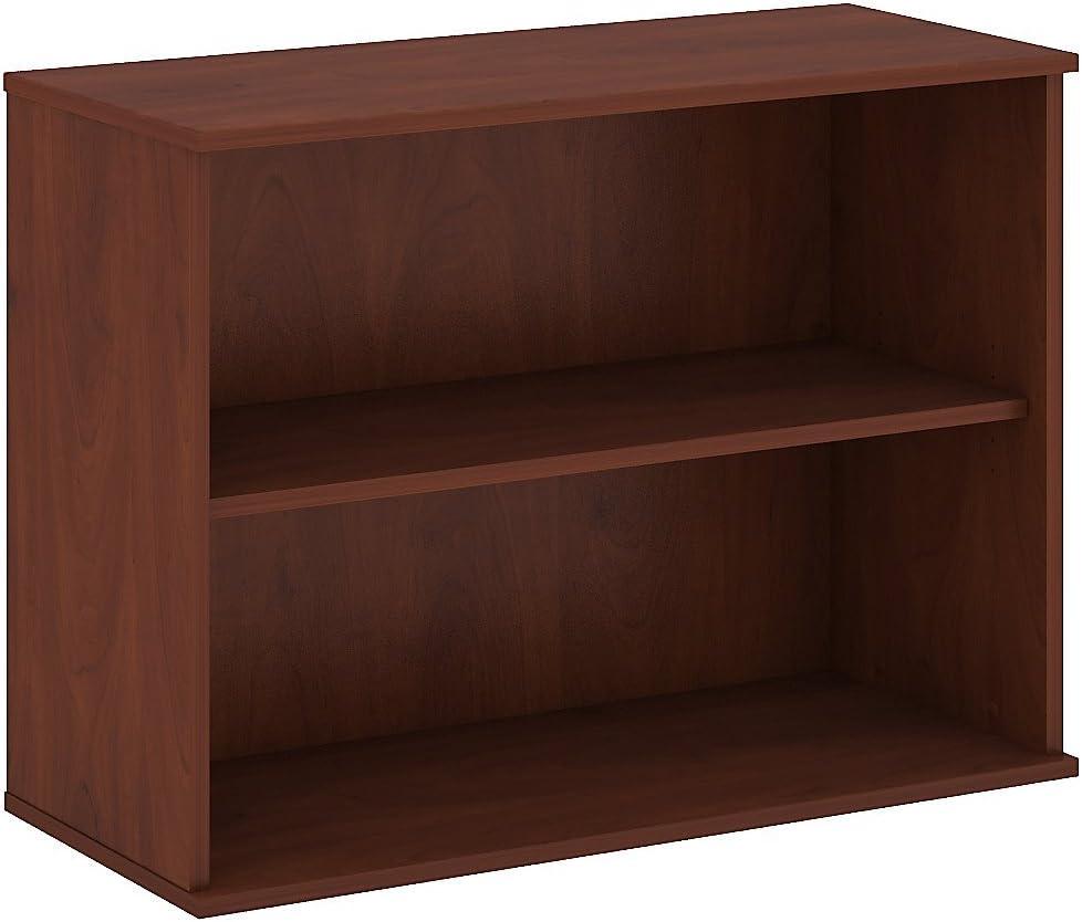 Bush Business Furniture 30H 2 Shelf Bookcase in Hansen Cherry
