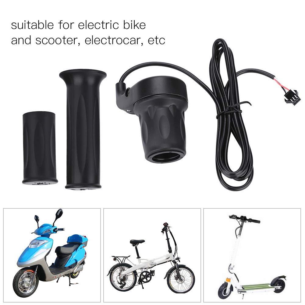 OKBY Acc/él/érateur de Vitesse 1 Paire de bicyclettes /électriques universelles pour v/élo /électrique Scooter Poign/ée dacc/él/érateur de Vitesse pour Guidon 22,5mm