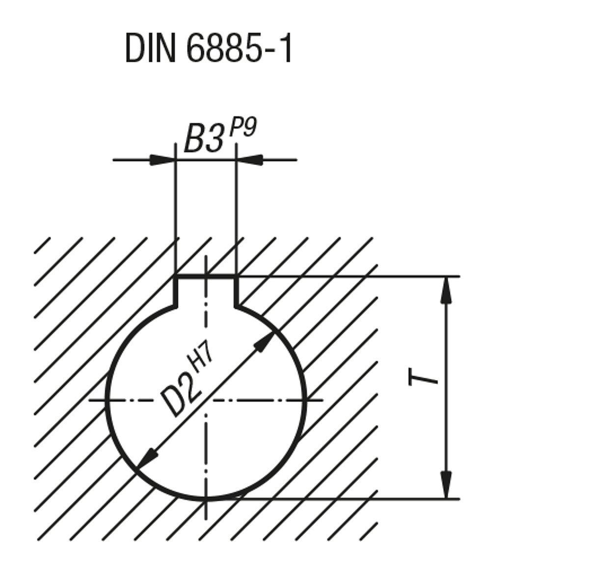 Bascule main Roue avec /écrou en fonte grise D2/= 16 k0671.1180/x 16 sans poign/ée Komp: acier D1/= 180 1/pi/èce