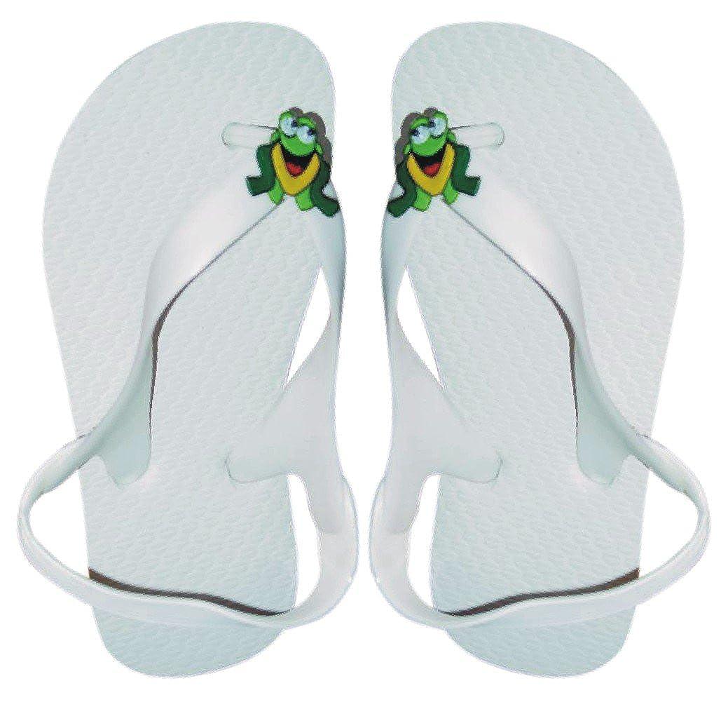 Cariris Frog Rally Rubber Flip-Flops