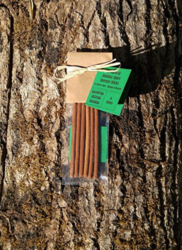 Christmas Incense - 6 Holiday Spice Incense Sticks - All Natural, Hand Rolled Herbal (Seasonal Incense)