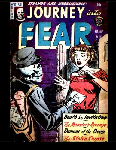 Journey Into Fear #16: Classic Horror Comics from 1953 ebook