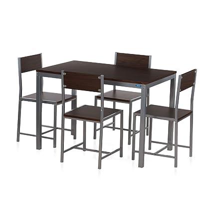 876c6c09432 Nilkamal Wigo Four Seater Dining Table Set (Glossy Finish