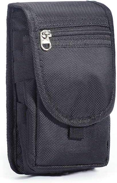 Ggdoo Smartphone de usos múltiples de la pistolera con Lazo para cinturón y mosquetón Multi-Bolsillo del Bolso de la Cintura del teléfono móvil de Bolsillo: Amazon.es: Hogar