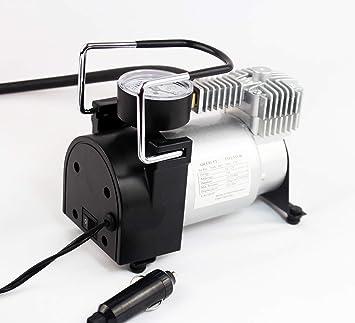 Amazon.es: furein Compresor de Aire Coche Portátil, Inflador Bomba de Aire Eléctrico 12V con manómetro 150psi, Ideal para neumáticos de Coche, ...