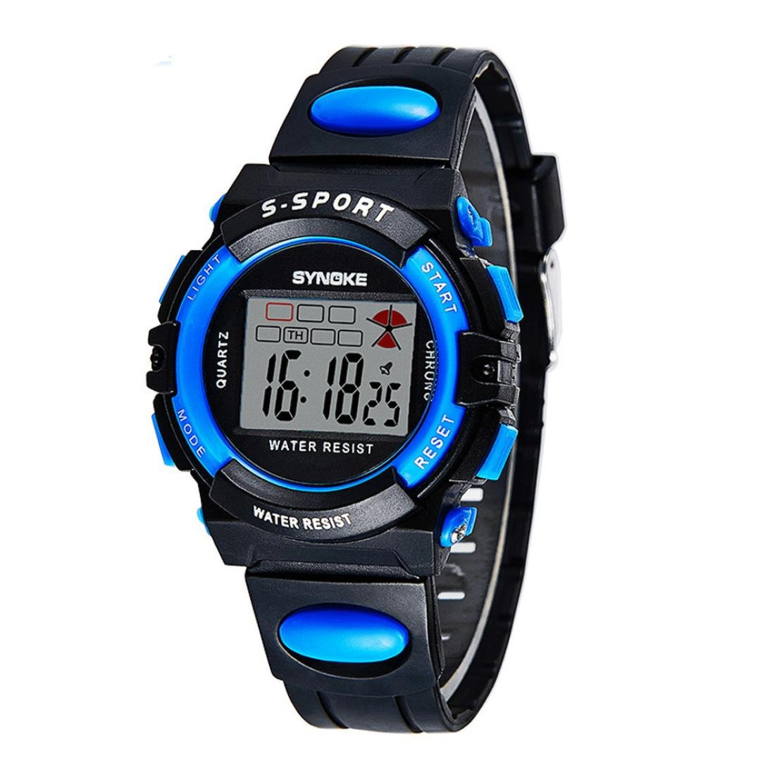 Amazon.com: Voberry® Sports Digital LED Watches Alarm Date ...