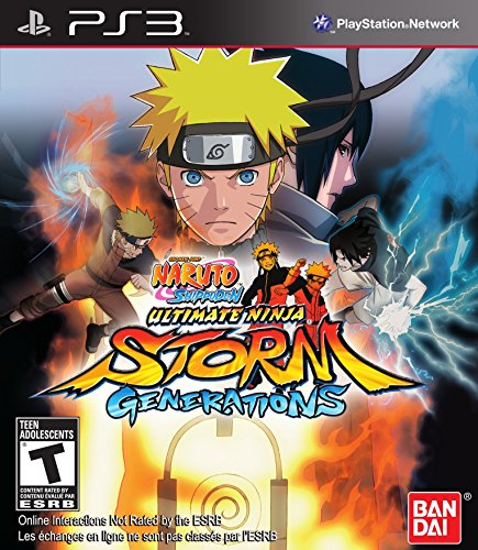 Naruto Shippuden Ultimate Ninja Storm Generations - Playstation 3 (Naruto Video Games Ps3)