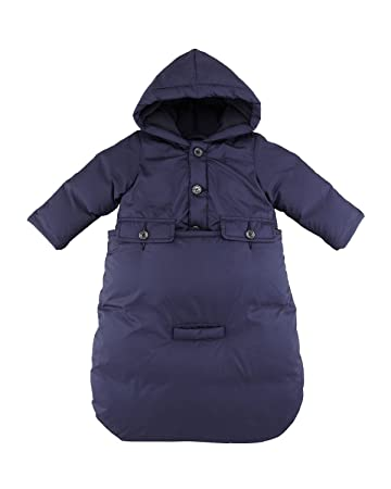 b816ea984 Amazon.com  Ralph Lauren Polo Baby Boys Convertible Down Bunting ...