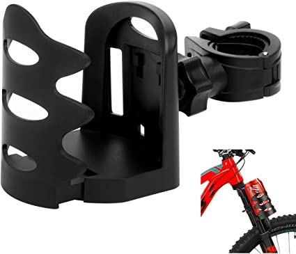 Water Cup Bottle Cage Holder Attachment Clamp//Stroller Bicycle Wheelchair crutch