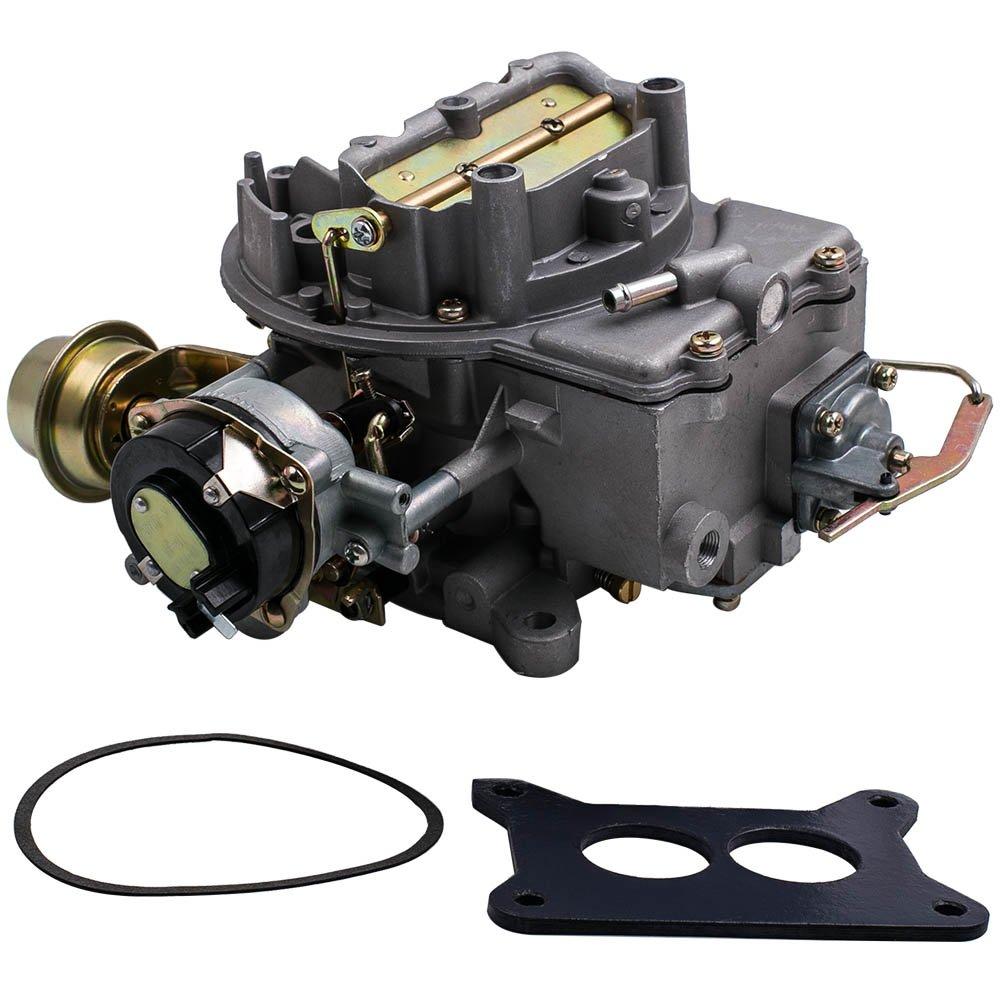 Maxpeedingrods 2 Barrel Carburetor For Ford F100 F250 1964 Fuel Tank F350 With 289 302 351 Cu Engine Jeep Wagoneer Sj 1978 360 Automotive