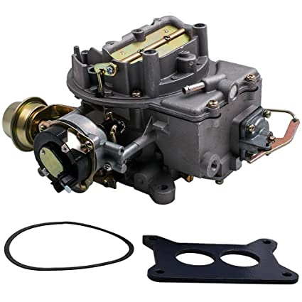 amazon com: maxpeedingrods 2-barrel carburetor for ford 289 302 351 and jeep  360 cu engine, for ford f100/f250/f350 and jeep wagoneer sj 1964-1978:
