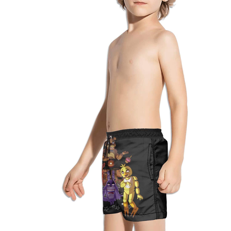 kattyy1 Kids Beachwear Printed Solid Board Swim Shorts