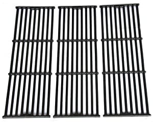 VICOOL HyG505A Cast Iron Cooking Grid, Cooking Grate Replacement for Chargriller, King Griller Gas Grill Models