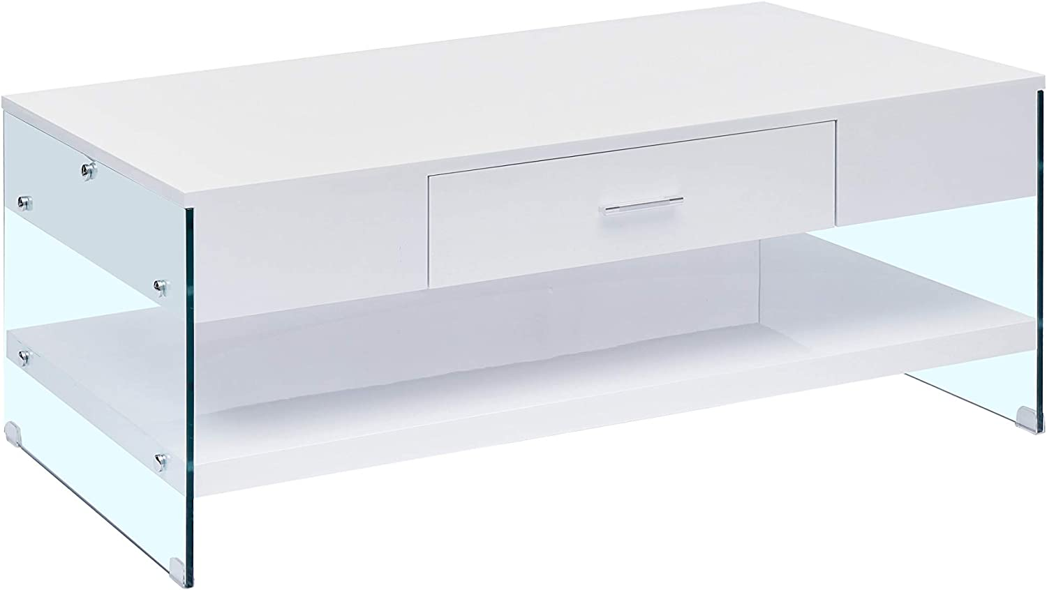 Amazon Com Best Quality Furniture Coffee Table Only White
