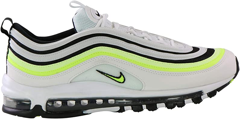 Baskets basses air max 97 en cuir Nike Multicolore taille