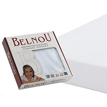 Abitti Bonitex - Protector de colchón Altea de 90cm: Impermeable y Transpirable, 100% algodón Natural, Blanco, Cama 90 x 190/200 cm: Amazon.es: Hogar