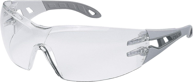 Uvex Pheos - Gafas de Seguridad - Protección Laboral - Antiarañazos y Antivaho - Transparentes (anti-UV, normas EN 166 y EN 170)