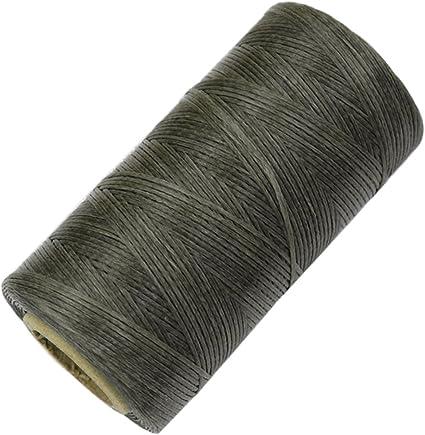 20M Waxed Cotton Cord String Jewelry Leathercraft Making 1mm Light Purple