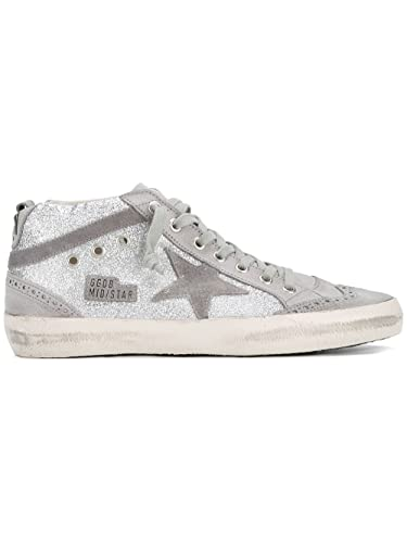 Mid-Star Glitter Sneakers Golden Goose