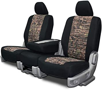 Amazon Com Custom Fit Seat Covers For Ford F 150 Bench Seats Neoprene Conceal Camo Fabric Automotive