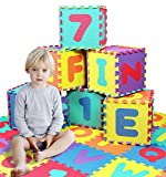 Click N' Play, Alphabet and Numbers Foam Puzzle