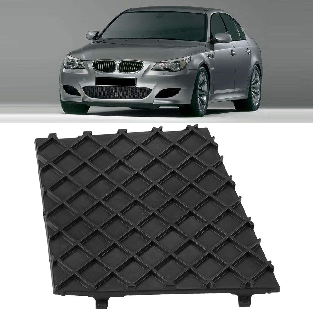 Front Bumper End Cover Lower Grille 1 Pair Carbon Fiber Front Bumper Grille Cover for E60 E61