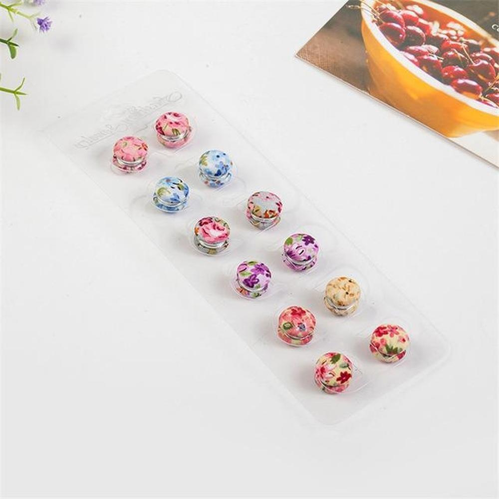 12 pairs GoAlisha Cute Fashion Magnet Pins for Sarees and Dupattas Navrang 9979689-random-shippment-1