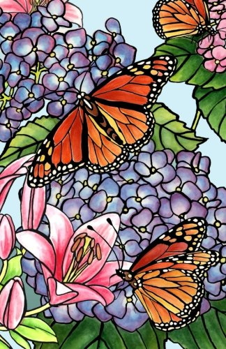 Read Online Journal: Beautiful Butterflies and Flowers (Illustration): Lined Journal, 120 Pages, 5.5 x 8.5, Butterfly, Flowers, Soft Cover, Matte Finish (Butterfly Journals) (Volume 12) pdf epub