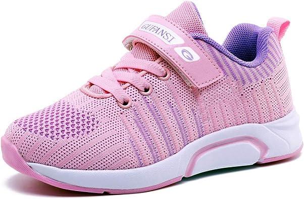 Deportivas Zapatos de Running Niña 28 Zapatillas de Niños Zapatillas de Correr Niñas Ligeras Zapatos de Walking Niño Transpirable Sneakers Baloncesto Zapatillas y Calzado Deportivo Rosa Pink: Amazon.es: Zapatos y complementos