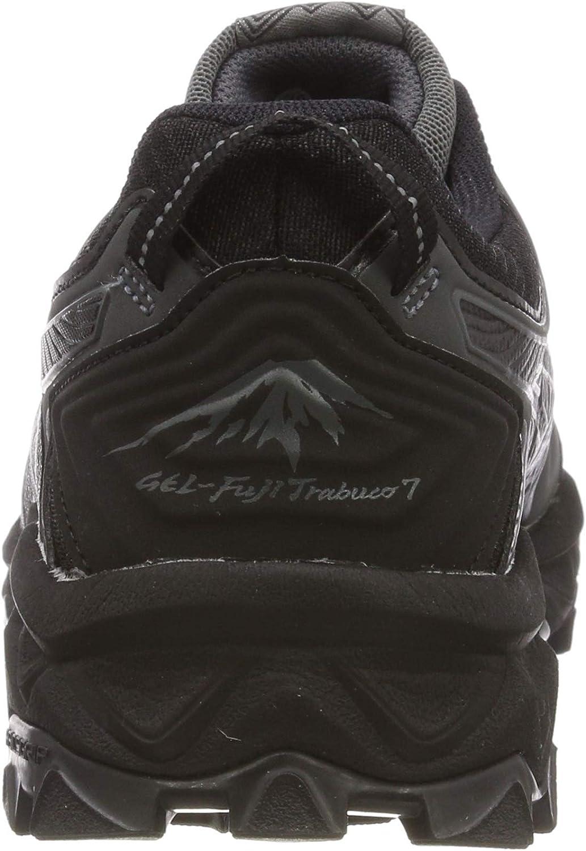 ASICS Damen Gel Fujitrabuco 7 G tx Laufschuhe, schwarz, 41.5 EU